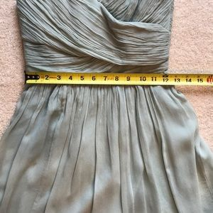 J. Crew Dresses - Jcrew Heidi dusty shale bridesmaid dress
